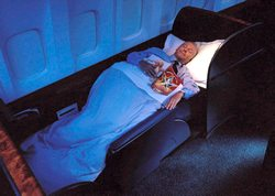 Cathay Pacific Flat Bed
